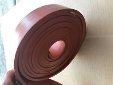 "SILICONE RUBBER, Extruded,  3/8"" THK x 2-1/4"" WIDE x 25 feet LONG"