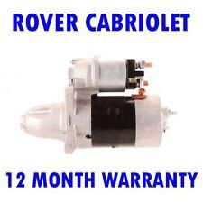 ROVER CABRIOLET 214 216 1.4 1.6 1990 1991 1992 1993 - 1999 RMFD STARTER MOTOR