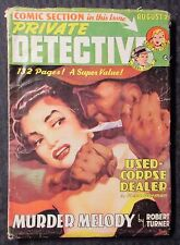 1950 PRIVATE DETECTIVE v.22 #6 G/VG 3.0 w/ Comics Section Sally The Sleuth