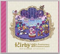New Kirby 25th Anniversary Orchestra Concert Music CD From Japan