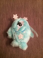 """NEW Cosmic Zowie Claires Girls Key Chain 4"""" Cute Mint Color Soft Plush NWT"""