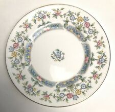 More details for royal worcester mayfield small plate decorated with flowers made england