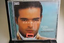 Pablo Montero - Que Voy A Hacer Sin Ti, 2000 ,Music CD (NEW)