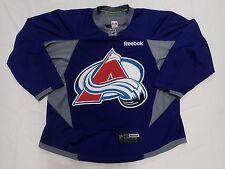 Colorado Avalanche Nhl Pro Stock Nhl Custom Practice Hockey Jersey Size 58 Royal