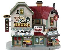 LEMAX Stone Creek Cinema / Weihnachtsdorf Winterdorf Modellbau Porzellanhaus