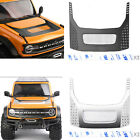 Steel Hood Protection Cover Decoration Plate for TRX-4 Bronco 2021 RC Model Car