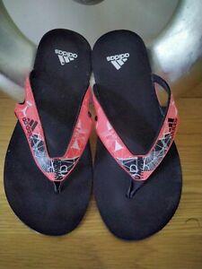 ADIDAS Toe Post Sandals Size 9.