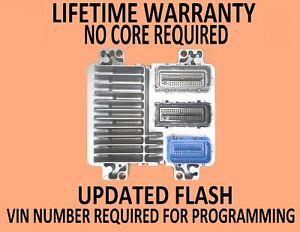 2006 CADILLAC CTS-V 6.0L ENGINE COMPUTER 12607096 VIN PROGRAMMED