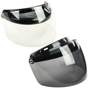 GMax GM2 Motorcycle Helmet 3 Snap Flip Up Replacement Face Shield