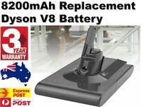 8200mAh Battery For Dyson V8 Absolute / Animal ALL 21.6V Cordless Vacuum Cleaner