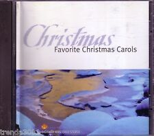 Favorite Christmas Carols CD Classic Great MTL HOLY NIGHT THE FIRST NOEL Rare