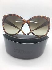 ALEXANDER MCQUEEN AMQ 4245/S 2ICCC TORTOISE W. Gold SUNGLASSES 58-17-130 NEW!!!