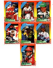 NASCAR 1989 Maxx Crisco autographed card lot