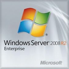MSFT Server Window 2008 R2 Enterprise 10 CAL Edition 64 bit x64 1-8CPU