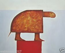"""Canvas print from Oil painting  2001 by Yagor """"Turtle"""" (38""""x31"""")"""