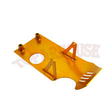 Gold Engine Skid Plate For XR50 CRF50 90cc 110 125 140cc Lifan YX Dirt Pit Bike