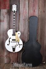 Gretsch G6120DE Duane Eddy Signature Hollowbody Electric Guitar Pearl White DEMO