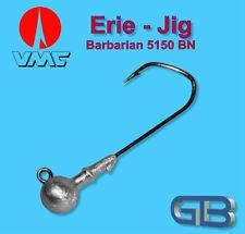 VMC Barbarian Jig 5150 BN 4/0 - 10g Jigkopf Jighaken Eriekopf Bleikopf.