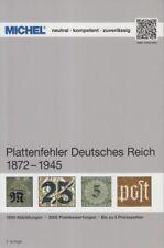 Michel Katalog Plattenfehler Deutsches Reich 1872-1945, 2. Auflage (Juli 2018)
