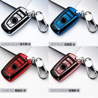Autoschlüssel Hülle Chrom TPU Schlüsseltasche für BMW
