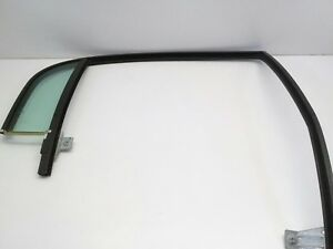 2000 Ford Lincoln Town Car OEM right rear weather strip run channel with glass