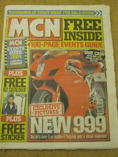 MCN - MOTORCYCLE NEWS - NEW 999 - 24 March 2004