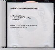 (DZ96) Bodixa Pre Production Nov 2001 - 2001 DJ CD