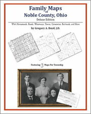 Family Maps Noble County Ohio Genealogy Plat History