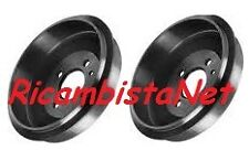 2 Tamburi Tamburo + ganasce + cilindretti Freno POST Lancia Y 1.2 8v senza ABS