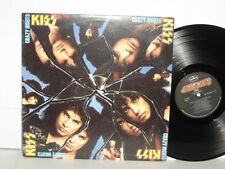 KISS Crazy Nights LP Paul Stanley Gene Simmons Hell Or High Water Bang Bang You