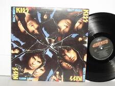 KISS Crazy Nights LP Paul Stanley Gene Simmons Hell Or High Water Bang Bang You