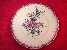 Antique Hand Painted French Faience Henri Chaumeil Plate c.1890-1920, ff336