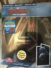 Marvel Avengers :age Of Ultron (steelbook , Bluray , Dvd) New (ultron Copy) Rare