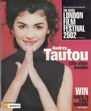 AUDREY TAUTOU - KIM BASINGER - Vintage London Film Festival Magazine 2002  C#39
