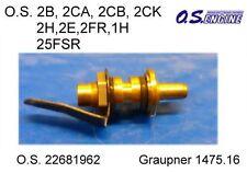 O,S. 22681962 R)C Needle Ass. Düsenstock Graupner 1475.16