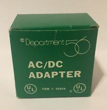 VINTAGE - Department 56 AC/DC Adapter 55026