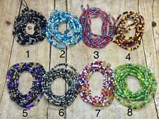 Waist Beads - Weight Loss Beads - Belly Beads - Belly Chain up to 50 inches long