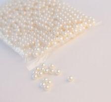 Decorativo Cuentas De Perlas 10mm 1000 unidades Blanco/Marfíl Decoración Arte y