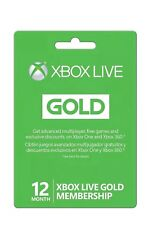 12 MONTH GOLD MEMBERSHIP XBOX 360 / XBOX ONE WILL WORK WORLDWIDE VPN ONLY