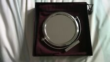 Penhaligons free standing silver shaving/makeup mirror with pouch (BNIB)