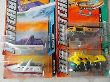 MATCHBOX FIRE RESCUE HELICOPTER & OTHER MODELS SET OF 4  # 25