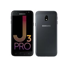 SAMSUNG GALAXY J3 PRO DUAL SIM ( Unlocked ) 16GB 4G LTE 5in 13MP FHD BLACK 2017