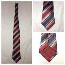 Ermenegildo Zenga 95% Silk 5% Cotton Multi Color Neck Tie Made In Italy