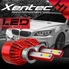 Pair H1 388W 38800LM Car CREE LED Headlight Bulb Conversion COB Kit 6000K White