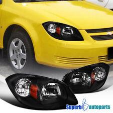 For 2005-2010 Cobalt 2005-2006 Pursuit 2007-2009 Pontiac G5 Black Headlights