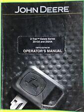 Genuine John Deere Operators Manual Omtcu22799 B8 For Z510a And Z620a