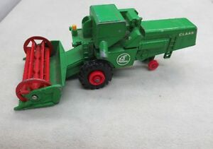 LESNEY DIECAST CLAAS COMBINE HARVESTER MATCHBOX KING SIZE NO K9 VINTAGE TOY