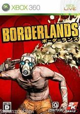 Used Xbox 360 Borderlands MICROSOFT JAPAN JP JAPANESE JAPONAIS IMPORT