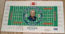 "Don Shula Miami Dolphins 30"" by 16.5"" NFL Football Lithograph - FREE SHIPPING"