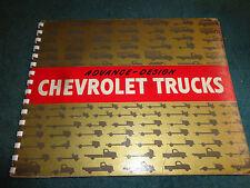 1947 CHEVROLET TRUCK DEALER ALBUM / GOLD BOOK / PICKUP / SEDAN DELIVERY & MORE!!